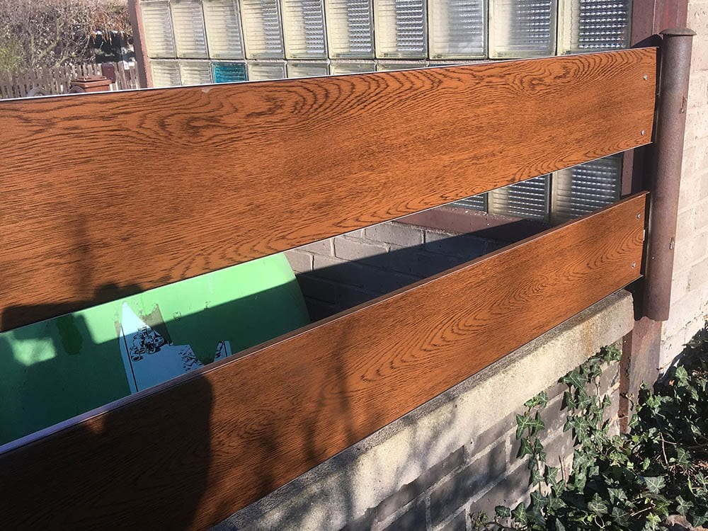 Realizace plot zlatý dub